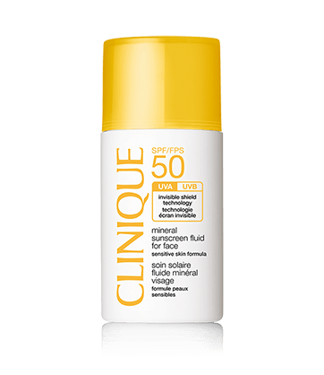 SPF50 Mineral Sunscreen Fluid For Face